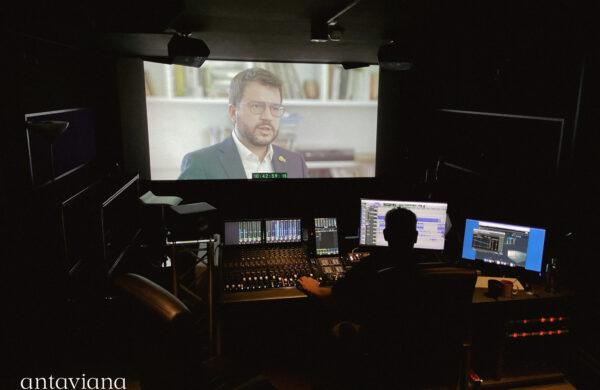 Pere Aragones documental postproducció so