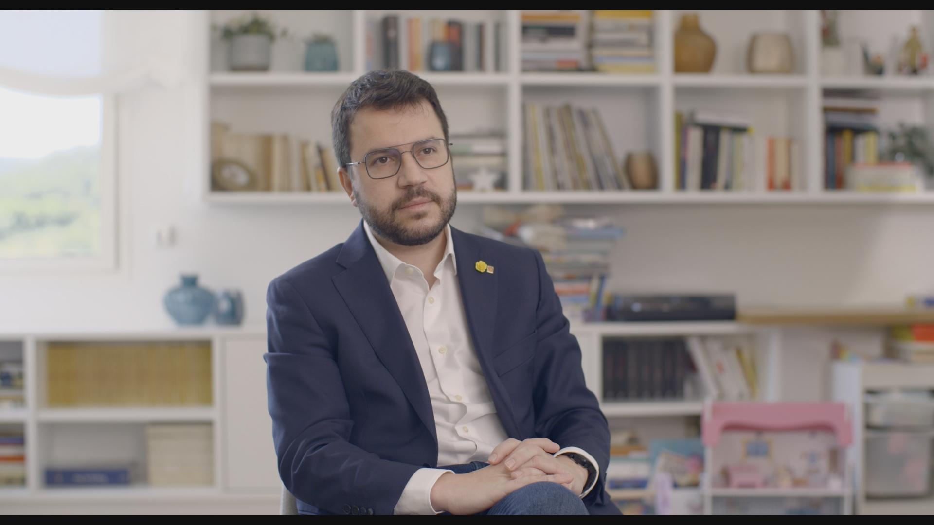 Posproducción documental Pere Aragonès
